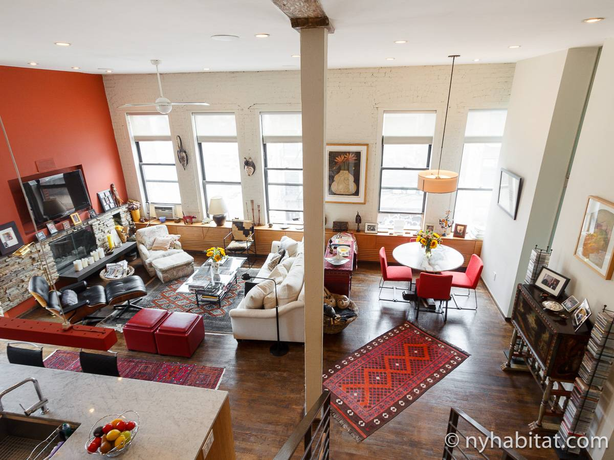 New york apartment 1 bedroom loft apartment rental in for The village nyc