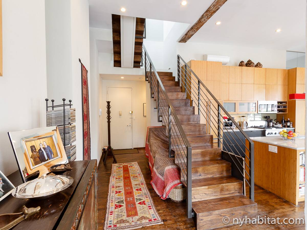New york apartment 1 bedroom loft apartment rental in for 1 bedroom apartments for sale nyc