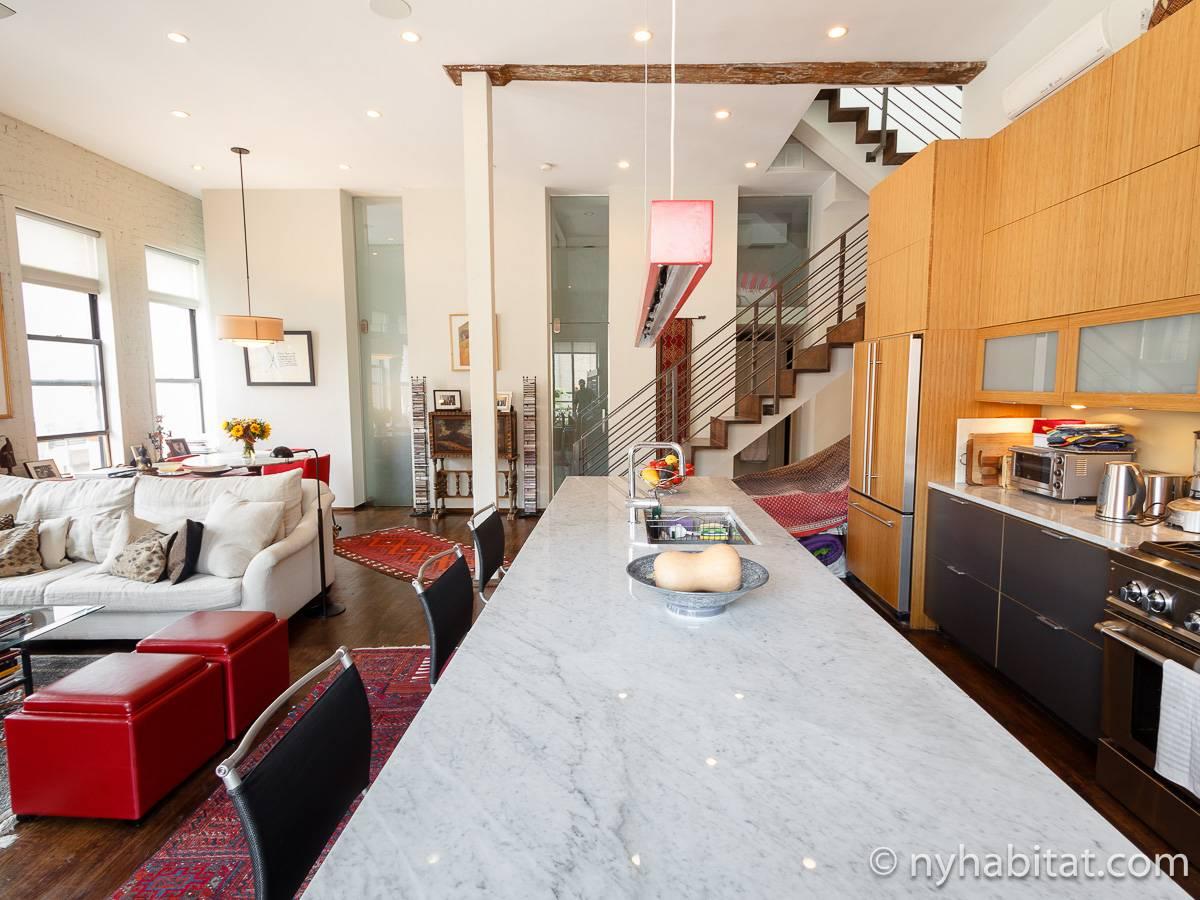 New York Apartment 1 Bedroom Loft Apartment Rental In Noho Greenwich Village West Village