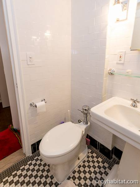 New York Alcove Studio apartment - bathroom (NY-6441) photo 3 of 3