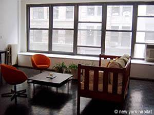 New York T2 - Loft logement location appartement - séjour (NY-7245) photo 2 sur 7