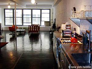 New York T2 - Loft logement location appartement - séjour (NY-7245) photo 1 sur 7