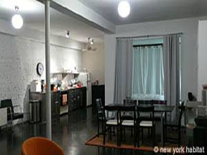New York T2 - Loft logement location appartement - séjour (NY-7245) photo 3 sur 7