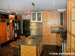 New York 1 Bedroom - Loft apartment - kitchen (NY-8032) photo 4 of 4
