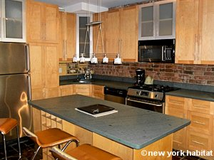 New York 1 Bedroom - Loft apartment - kitchen (NY-8032) photo 1 of 4