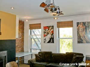 New York 1 Bedroom - Loft apartment - living room (NY-8032) photo 5 of 7