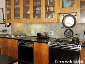 New York 2 Bedroom - Loft apartment - kitchen (NY-8091) photo 2 of 4