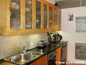 New York 2 Bedroom - Loft apartment - kitchen (NY-8091) photo 3 of 4