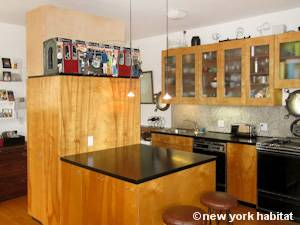 New York 2 Bedroom - Loft apartment - kitchen (NY-8091) photo 1 of 4