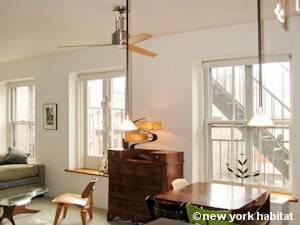 New York 2 Bedroom - Loft apartment - living room (NY-8091) photo 3 of 10