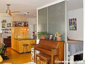 New York 2 Bedroom - Loft apartment - living room (NY-8091) photo 4 of 10