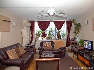 New York 3 Bedroom - Duplex roommate share apartment - living room (NY-8114) photo 1 of 4