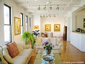 New York Apartment: Studio Loft Apartment Rental in Chelsea (NY-8169)