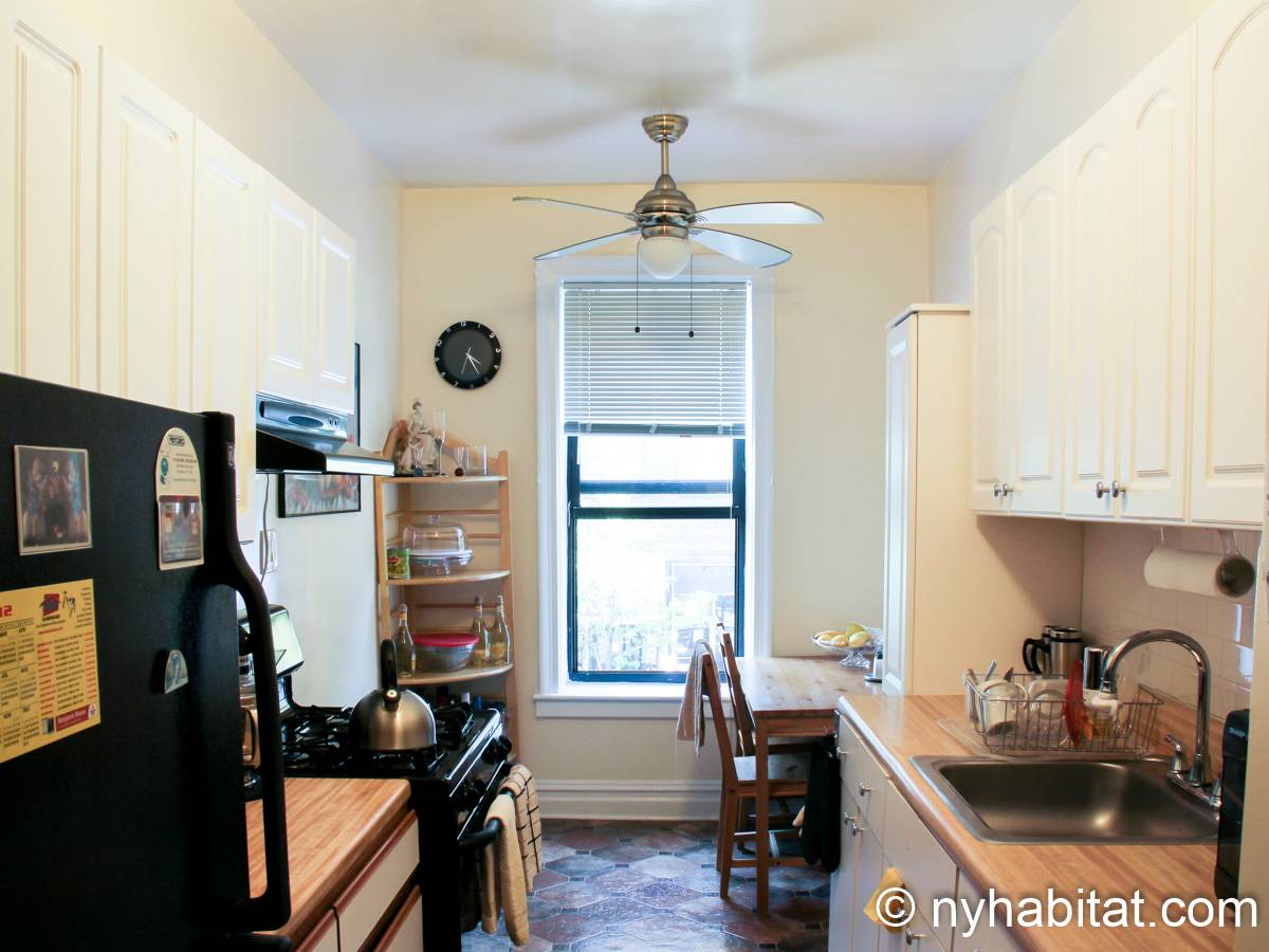 New York 3 Bedroom roommate share apartment - kitchen (NY-8264) photo 1 of 4
