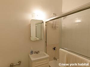 New York Studio T1 logement location appartement - salle de bain (NY-8404) photo 1 sur 4