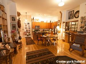 New York T2 - Loft logement location appartement - séjour (NY-9067) photo 7 sur 7