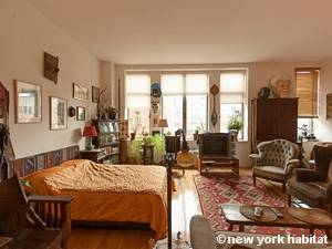 New York T2 - Loft logement location appartement - séjour (NY-9067) photo 2 sur 7