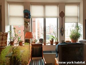 New York T2 - Loft logement location appartement - séjour (NY-9067) photo 4 sur 7