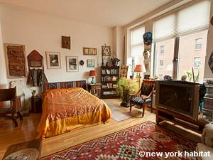 New York T2 - Loft logement location appartement - séjour (NY-9067) photo 3 sur 7