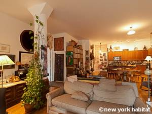 New York T2 - Loft logement location appartement - séjour (NY-9067) photo 6 sur 7