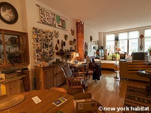 New York T2 - Loft logement location appartement - séjour (NY-9067) photo 1 sur 7