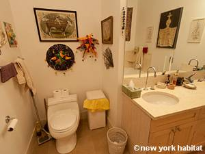 New York T2 - Loft logement location appartement - salle de bain 2 (NY-9067) photo 2 sur 4