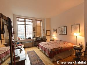 New York T2 - Loft logement location appartement - chambre (NY-9067) photo 1 sur 5