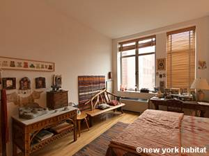 New York T2 - Loft logement location appartement - chambre (NY-9067) photo 3 sur 5