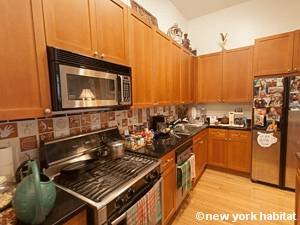 New York T2 - Loft logement location appartement - cuisine (NY-9067) photo 3 sur 4