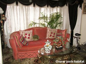 New York 1 Bedroom roommate share apartment - living room (NY-9074) photo 1 of 10