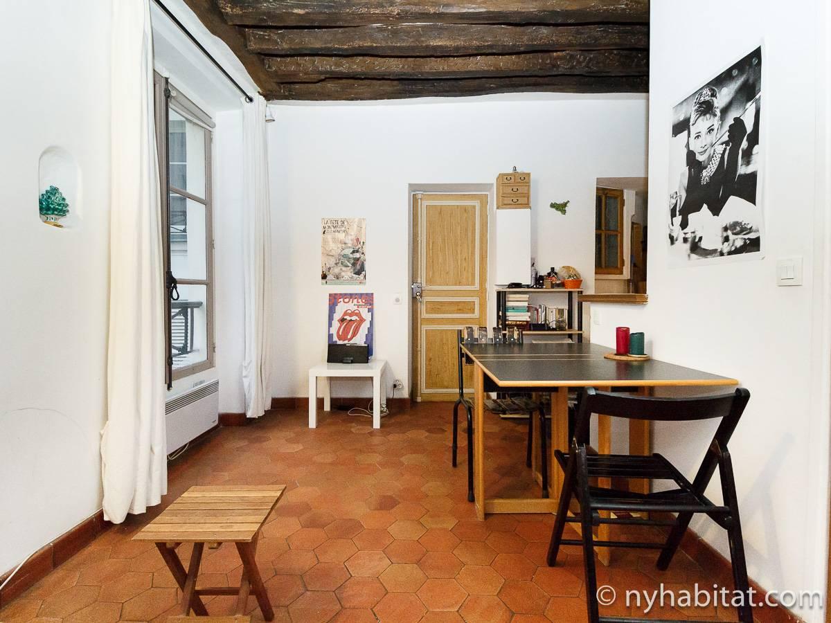 Appartamento a parigi monolocale le saint louis le for Appartamenti a parigi