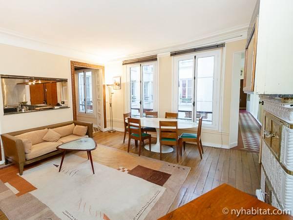 Paris 3 Bedroom Apartment   Living Room (PA 809) Photo 1 Of 6 ...