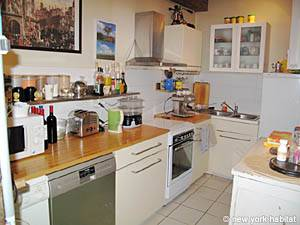 Paris T3 appartement location vacances - cuisine (PA-877) photo 1 sur 2