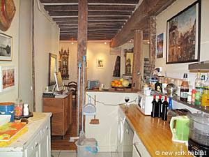 Paris T3 appartement location vacances - cuisine (PA-877) photo 2 sur 2