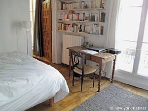 Paris T3 appartement location vacances - chambre 1 (PA-877) photo 3 sur 5