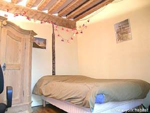 Paris T3 appartement location vacances - chambre 1 (PA-877) photo 1 sur 5