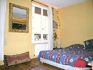 Paris T3 appartement location vacances - chambre 2 (PA-877) photo 5 sur 5