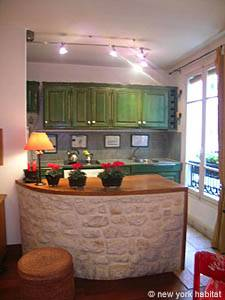 Paris 1 Bedroom accommodation - kitchen (PA-910) photo 1 of 3