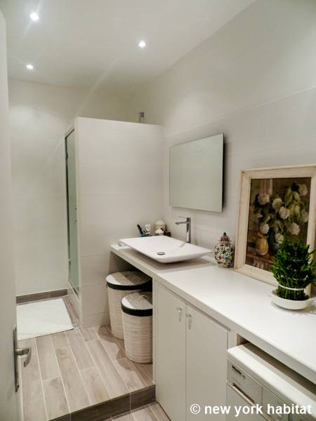 Casa vacanza a parigi 3 camere da letto bastiglia pa 927 for 2 camere da letto 1 bagno piani duplex
