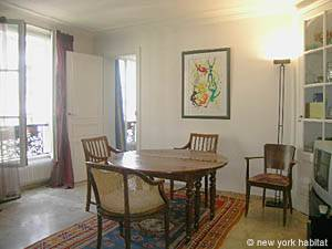 Paris 2 Bedroom accommodation - living room (PA-983) photo 5 of 7