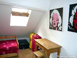 Paris 2 Bedroom - Duplex accommodation - bedroom 2 (PA-1274) photo 2 of 2