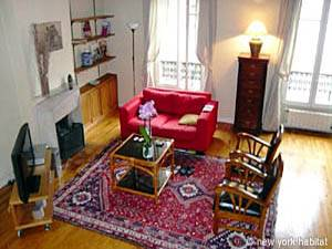 Paris 2 Bedroom - Duplex accommodation - living room (PA-1274) photo 1 of 4