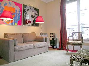 Paris - Studio accommodation - Apartment reference PA-1295