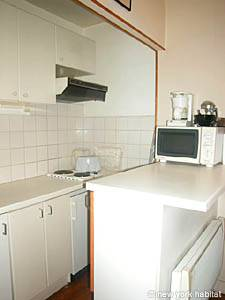Paris Studio T1 appartement location vacances - cuisine (PA-1399) photo 1 sur 3