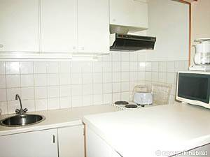 Paris Studio T1 appartement location vacances - cuisine (PA-1399) photo 3 sur 3