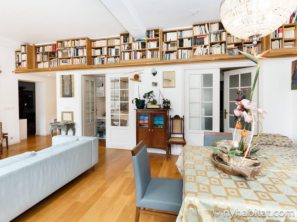appartement paris location de vacances t3 le marais pa 1460. Black Bedroom Furniture Sets. Home Design Ideas