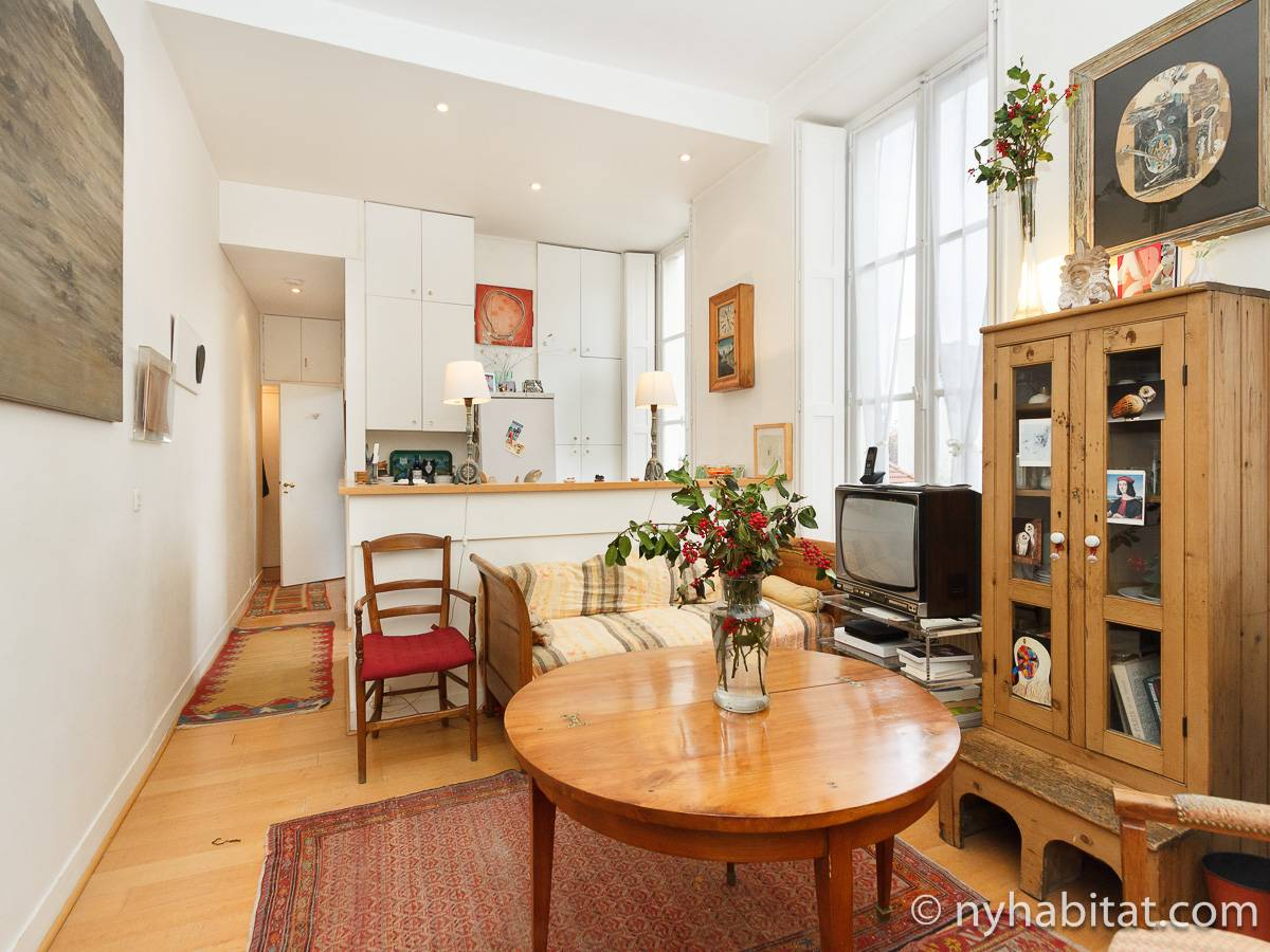 Paris - 1 Bedroom accommodation - Apartment reference PA-1706