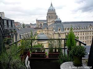 Paris 1 Bedroom - Duplex accommodation - living room (PA-1753) photo 8 of 12