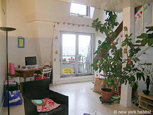 Paris 1 Bedroom - Duplex accommodation - living room (PA-1753) photo 2 of 17