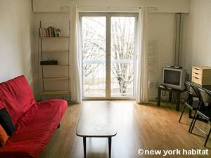 Paris Studio accommodation - living room (PA-1816) photo 2 of 10